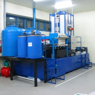 Bespoke water treatment plant from WMEC
